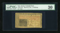 Colonial Notes:New Jersey, New Jersey March 25, 1776 15s PMG Very Fine 30....