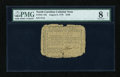 Colonial Notes:North Carolina, North Carolina August 8, 1778 $100 PMG Very Good 8 Net....