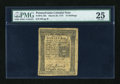 Colonial Notes:Pennsylvania, Pennsylvania March 20, 1773 16s PMG Very Fine 25....