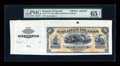 Large Size:Demand Notes, Hawaiian Islands $10 Silver Certificate (1880) Pick 1p Face Proof PMG Gem Uncirculated 65 EPQ....