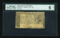 Colonial Notes:Maryland, Maryland January 1, 1767 $4 PMG Net Good 6....
