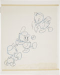 Original Comic Art:Miscellaneous, Huey, Dewey, and Louie Puzzle Preliminary Sketch with Color GuideOriginal Art (Disney/Jaymar, undated)....