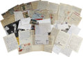Autographs:U.S. Presidents, Lee Harvey Oswald Archive. An extensive archive of 39 letters (manywith the original envelope), totaling 69 pp., written to... (Total:39 Items)