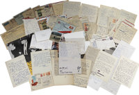 Lee Harvey Oswald Archive. An extensive archive of 39 letters (many with the original envelope), totaling 69 pp., wri