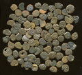 Ancients:Ancient Lots  , Ancients: Lot of approximately one-hundred Judaean AE of Alexander Jannaeus.... (Total: 100 coins)