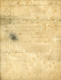 Autographs:Non-American, [Lord Horatio Nelson] Frances Nelson Autograph Letter Signed ...
