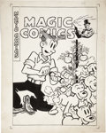 Original Comic Art:Covers, Joe Musial Magic Comics #109 Dagwood Cover Original Art(David McKay, 1948)....