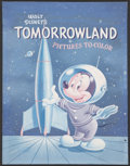 Original Comic Art:Covers, Walt Disney's Tomorrowland Pictures to Color Cover OriginalArt (Whitman, 1955).... (Total: 2 Items)