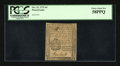 Colonial Notes:Pennsylvania, Pennsylvania October 25, 1775 3d PCGS Choice About New 58PPQ....