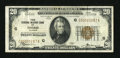 Small Size:Federal Reserve Bank Notes, Low Serial Number. Fr. 1870-G $20 1929 Federal Reserve Bank Note. Very Fine.. ...