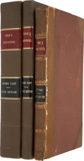 Books:Non-fiction, Edward Coke. Institutes of the Laws of England - Second,Third and Fourth Parts.... (Total: 3 Items)