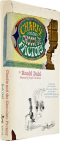 Books:First Editions, Roald Dahl. Charlie and the Chocolate Factory. New York:Alfred A. Knopf, 1964....