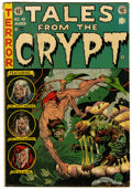 Golden Age (1938-1955):Horror, Tales From the Crypt #40 (EC, 1954) Condition: VG....