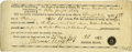 """Autographs:U.S. Presidents, Abraham Lincoln Partly Printed Subpoena, accomplished in Lincoln'shand and signed by Thomas Moffett, J.P., one page, 7.5"""" x..."""