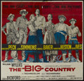 """Movie Posters:Western, The Big Country (United Artists, 1958). Six Sheet (81"""" X 81""""), Lobby Cards (5) (11"""" X 14"""") and Stills (7) (11"""" X 14""""). Weste... (Total: 13 Items)"""