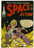 Golden Age (1938-1955):Science Fiction, Space Action #3 (Ace, 1952) Condition: FN....