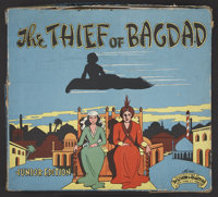 "The Thief of Bagdad (United Artists, 1940). Children's Board Game (13"" X 14""). Fantasy"