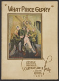 Movie Posters:War, What Price Glory (Fox, 1926). World Premiere Program (MultiplePages). War....