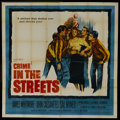 """Movie Posters:Crime, Crime in the Streets (Allied Artists, 1956). Six Sheet (81"""" X 81"""").Crime...."""