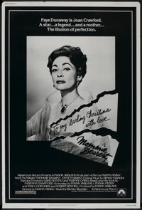 """Mommie Dearest (Paramount, 1981). Poster (40"""" X 60""""). Cult Classic"""