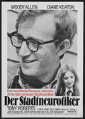 "Movie Posters:Academy Award Winner, Annie Hall (United Artists, 1977). German A1 (23"" X 33""). Academy Award Winner...."