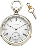 Timepieces:Pocket (pre 1900) , Lancaster West End Keywind, circa 1882. ...