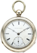 Timepieces:Pocket (pre 1900) , Elgin H.H. Taylor Adjusted Keywind, circa 1870. ...