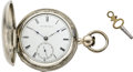 Timepieces:Pocket (pre 1900) , New York Watch Co. Chester Woolworth Model, circa 1870. ...