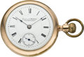 Timepieces:Pocket (pre 1900) , Columbus Watch Co. Pocket Watch, circa 1898. ...