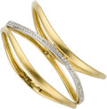 Estate Jewelry:Bracelets, Diamond, Gold Bracelet, Antonini. ...