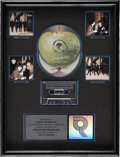 Music Memorabilia:Awards, Beatles Live at the BBC RIAA Multi-Platinum CD Award....