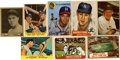 Baseball Cards:Lots, 1930's-1970's Baseball Card Collection (157). ... (Total: 157cards)