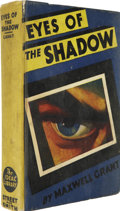 Books:Hardcover, Maxwell Grant - Eyes of the Shadow Hardcover Book (Street and Smith, 1931)....