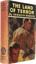 Books:Hardcover, Kenneth Robeson - The Land of Terror Hardcover Book (Street andSmith, 1933)....