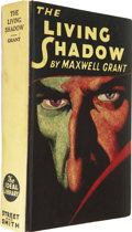 Books:Hardcover, Maxwell Grant - The Living Shadow Hardcover Book (Street andSmith, 1931)....