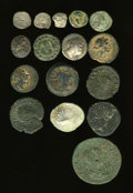 Ancients:Ancient Lots  , Ancients: Lot of sixteen ancient coins.... (Total: 16 coins)
