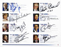 Movie/TV Memorabilia:Autographs and Signed Items, Candidate Signed 2007 Democratic Presidential Debate Program....