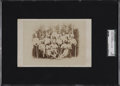 Baseball Collectibles:Photos, 1870 Baseball in Germany Cabinet Card Collection....