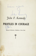 Autographs:U.S. Presidents, John F. Kennedy and Robert F. Kennedy Book Signed. Profiles in Courage, by John Kennedy. New York: Harper & Brothers, ...