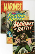Golden Age (1938-1955):War, War Comics Golden Age Group (Various Publishers, 1950s).... (Total:9 Comic Books)