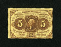 Fractional Currency:First Issue, Fr. 1229 5c First Issue About New....