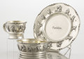 Silver Holloware, American:Bowls, AN AMERICAN SILVER AND SILVER GILT CHILD'S PLATE, CUP AND BOWL.Gorham Manufacturing Co., Providence, Rhode Island , circa 1...(Total: 3 Items)