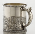 Silver Holloware, American:Child's Cups, AN AMERICAN SILVER AND SILVER GILT CHILD'S CUP. Gorham Manufacturing Co., Providence, Rhode Island, 1889. Marks: (lion-ancho...