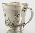 Silver Holloware, American:Cups, AN AMERICAN SILVER AND SILVER GILT CUP. Gorham Manufacturing Co.,Providence, Rhode Island, circa 1900. Marks: (lion-anchor-...