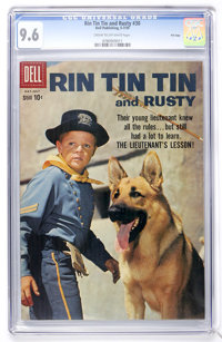 Rin Tin Tin #30 File Copy (Dell, 1959) CGC NM+ 9.6 Cream to off-white pages