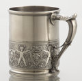 Silver Holloware, American:Cups, AN AMERICAN SILVER CUP. Unknown maker, circa 1880. Marks:ENGLISH STERLING 579. 3-5/8 inches high (9.2 cm). 6.56 troyou...