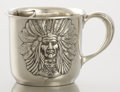 Silver Holloware, American:Cups, AN AMERICAN SILVER SHAVING MUG. Unger Bros., Newark, New Jersey,circa 1900. Marks: (interlaced UB), STERLING, 925 FINE, 8...