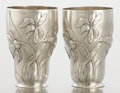 Silver Holloware, American:Cups, A PAIR OF AMERICAN SILVER CUPS. Gorham Manufacturing Co.,Providence, Rhode Island, 1879. Marks: (lion-anchor-G),STERLING... (Total: 2 Items)