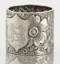 Silver Holloware, American:Napkin Rings, AN AMERICAN SILVER NAPKIN RING . Unknown maker, circa 1890. Marks:STERLING. 1-1/2 inches high x 1-3/4 inches diameter (...