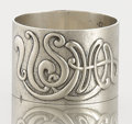 Silver Holloware, American:Napkin Rings, AN AMERICAN SILVER NAPKIN RING. L.H. Merkowitz, New York, New York,circa 1920. Marks: L.H. MERKOWITZ, STERLING, NEW YORK...